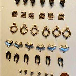 36 custom designed necklace bales/USA